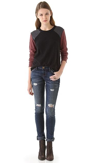 Raquel Allegra Dual Jersey Pullover