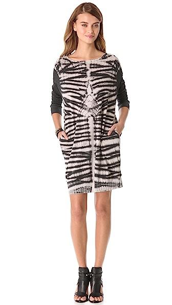 Raquel Allegra Long Sleeve Pullover Dress