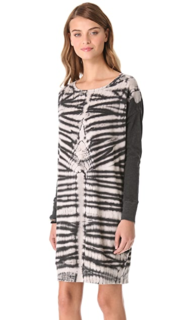 Raquel Allegra Long Sleeve Pullover Dress