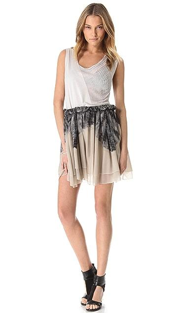 Raquel Allegra Shirred Skirt