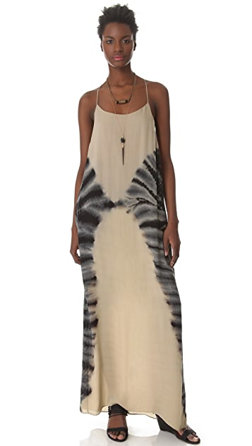 Raquel Allegra Halter Dress