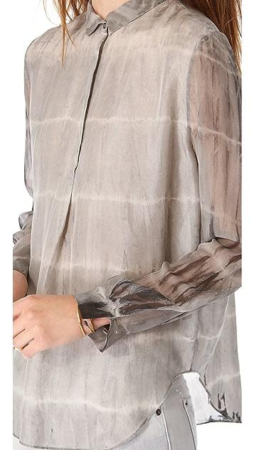 Raquel Allegra Long Sleeve Blouse