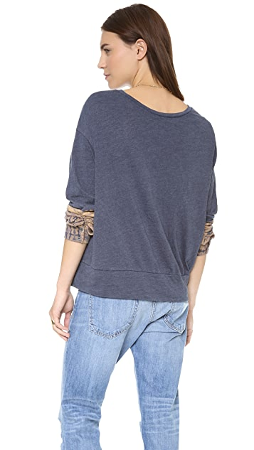 Raquel Allegra Wide Neck Pullover