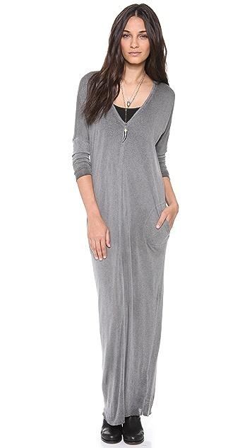 Raquel Allegra V Neck Dress