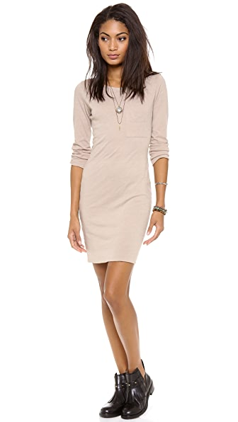 Raquel Allegra 3/4 Sleeve Fitted Dress