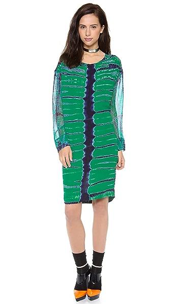 Raquel Allegra Silk Pullover Dress