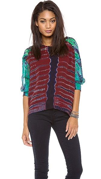 Raquel Allegra Silk Pullover