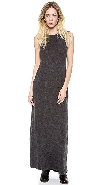 Raquel Allegra Sleeveless Maxi Caftan Dress