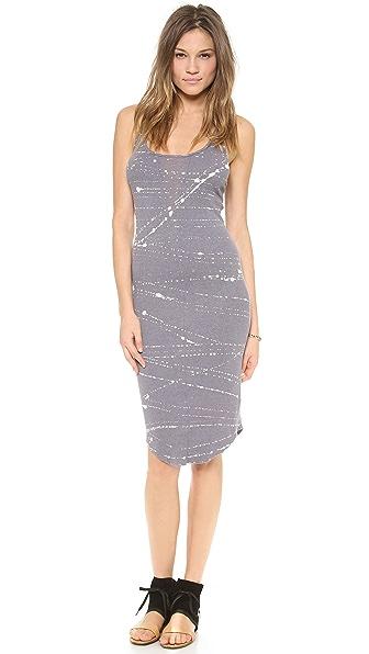 Raquel Allegra Tank Dress with Sheer Insert