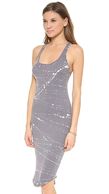 Raquel Allegra Tank Dress with Sheer Insert