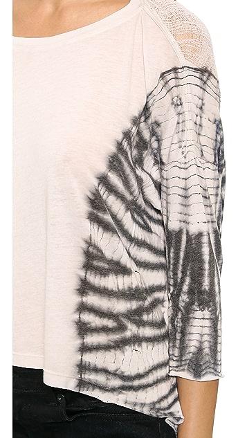 Raquel Allegra 3/4 Sleeve Cocoon Shirt