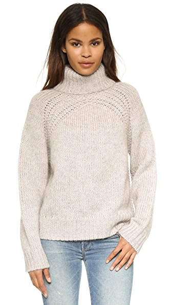 Raquel Allegra Turtleneck Pullover Sweater