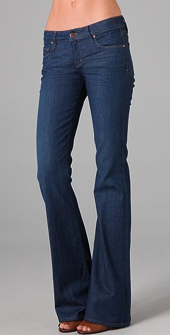 Raven Denim Enid Wide Leg Flare Jeans