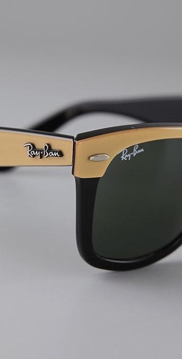 Ray-Ban Tonal Wayfarer Sunglasses