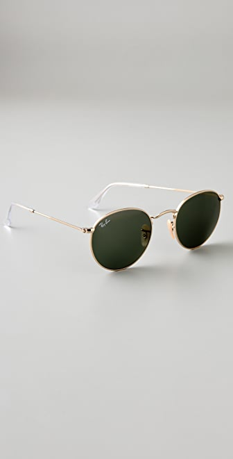 Ray-Ban Retro Round Metal Sunglasses