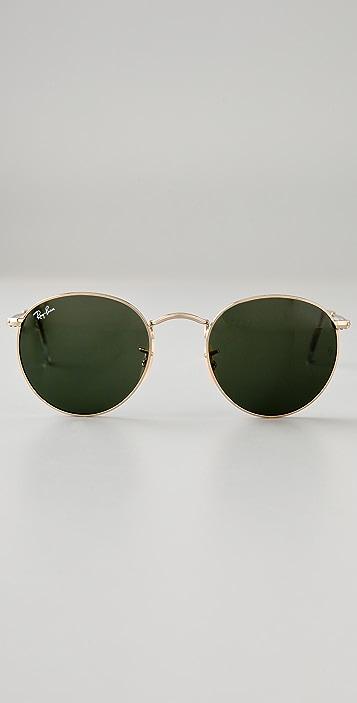 Ray-Ban Retro Round Metal Sunglasses