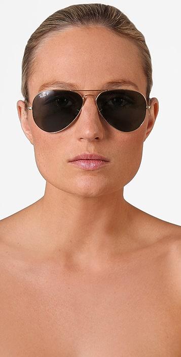 Ray-Ban Polarized Aviator Sunglasses