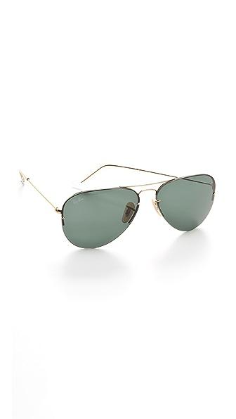 Ray-Ban Light Ray Aviator Flip Out Sunglasses