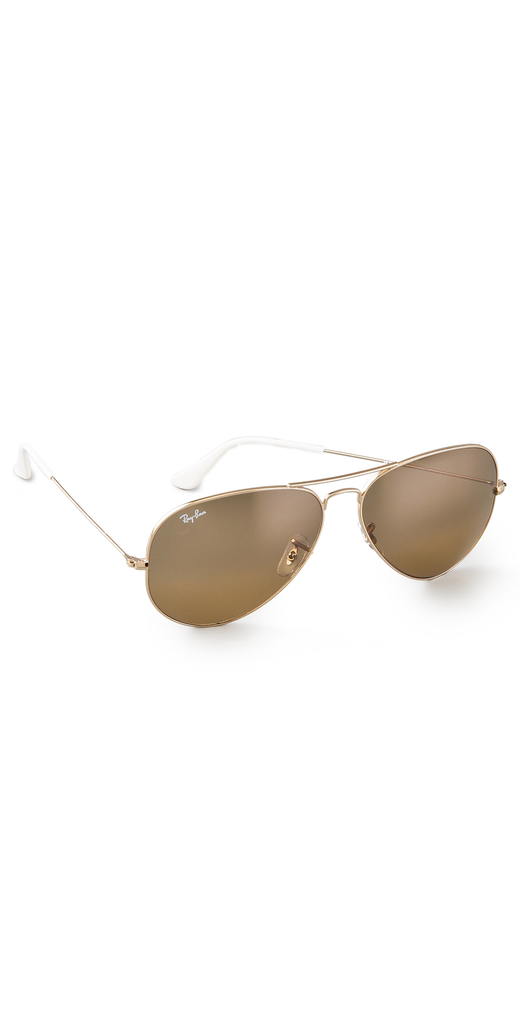 235cea2553 Ray-Ban RB3025 Oversized Mirrored Original Aviator Sunglasses