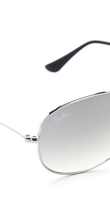 Ray-Ban Cockpit Aviator Sunglasses