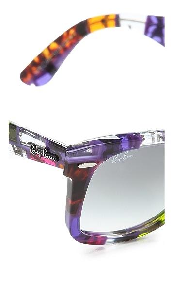 Ray-Ban Printed Wayfarer Sunglasses