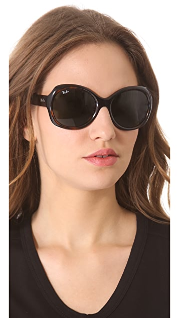 Ray-Ban Round Glam Sunglasses