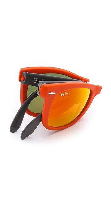 Ray-Ban Folding Wayfarer Sunglasses