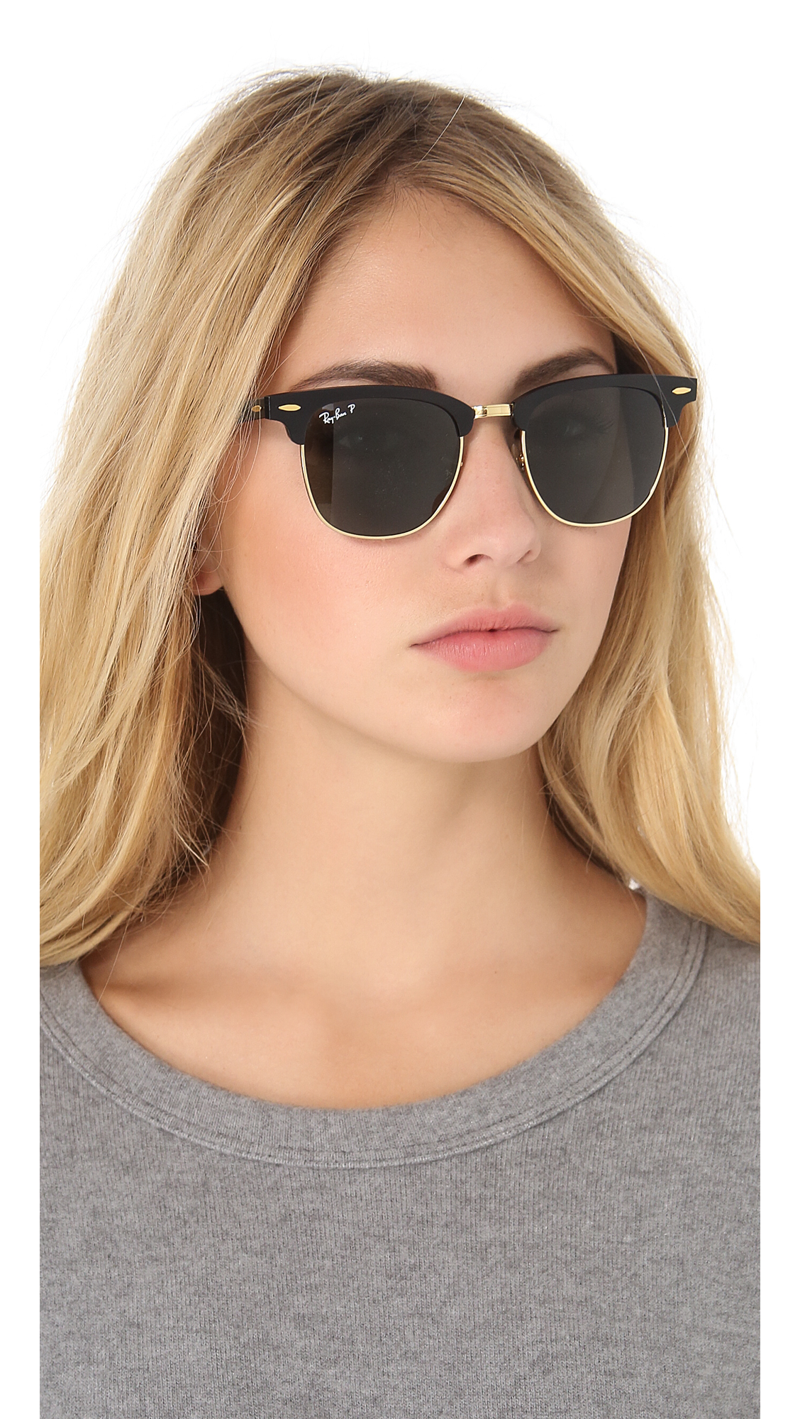 814c42e985 ... amazon ray ban oversized two tone clubmaster sunglasses shopbop a5e20  6f621
