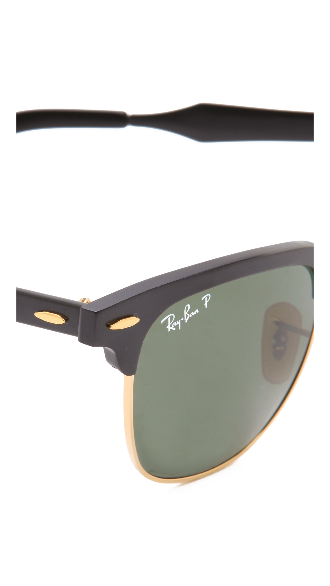 cd0934c02d63f Ray-Ban Oversized Two Tone Clubmaster Sunglasses