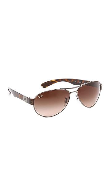Ray-Ban Small Wrap Aviator Sunglasses