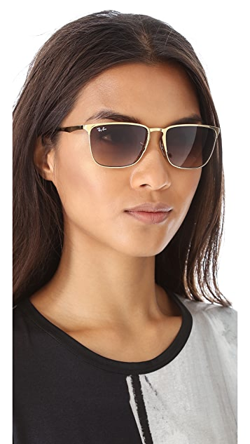 Ray-Ban Highstreet Square Sunglasses