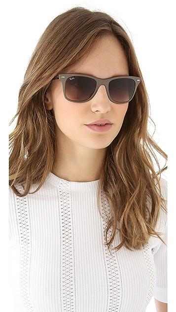 Ray-Ban Light Force Matte Wayfarer Sunglasses