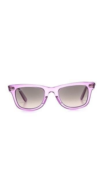 Ray-Ban Ice Pop Wayfarer Sunglasses