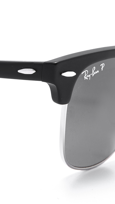 6f03042edc Ray-Ban Clubmaster Folding Polarized Sunglasses