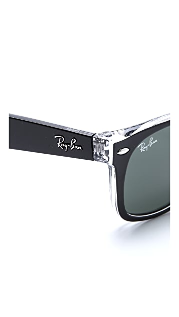 Ray-Ban New Transparent Wayfarer Sunglasses