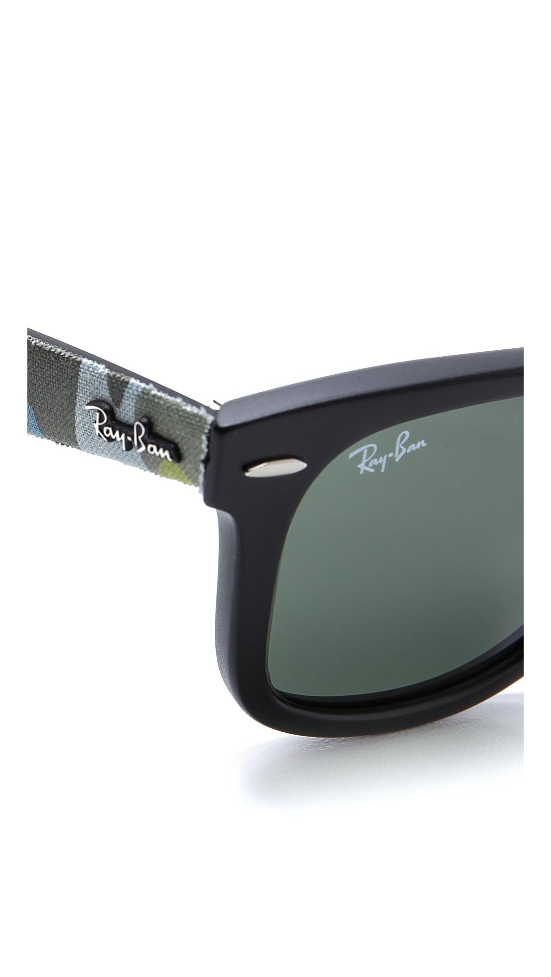 750410f872 Ray-Ban Camouflage Wayfarer Sunglasses