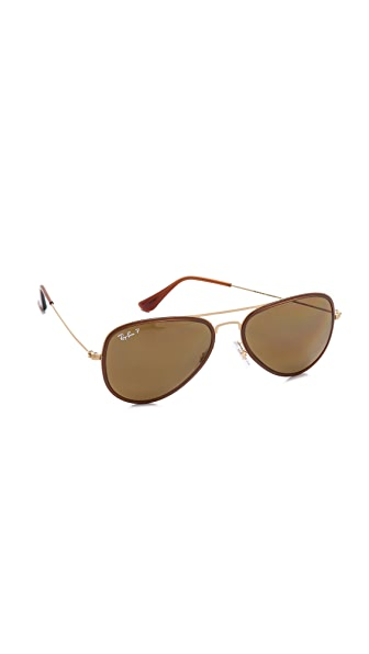 Ray-Ban Icons Avator Polarized Sunglasses