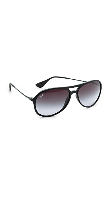 Ray-Ban Youngster Rubber Aviator Sunglasses