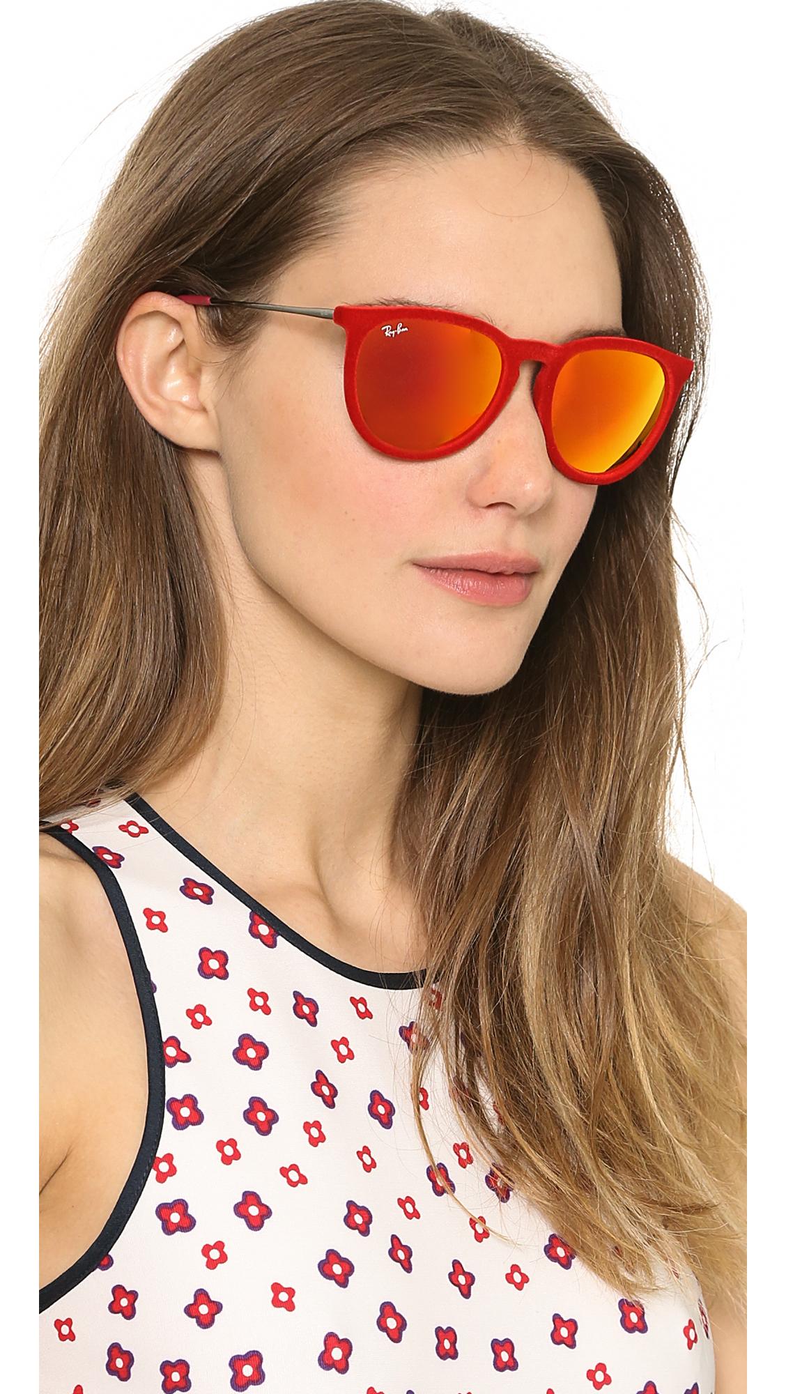 bc270eae4e Ray-Ban Erika Velvet Sunglasses | SHOPBOP