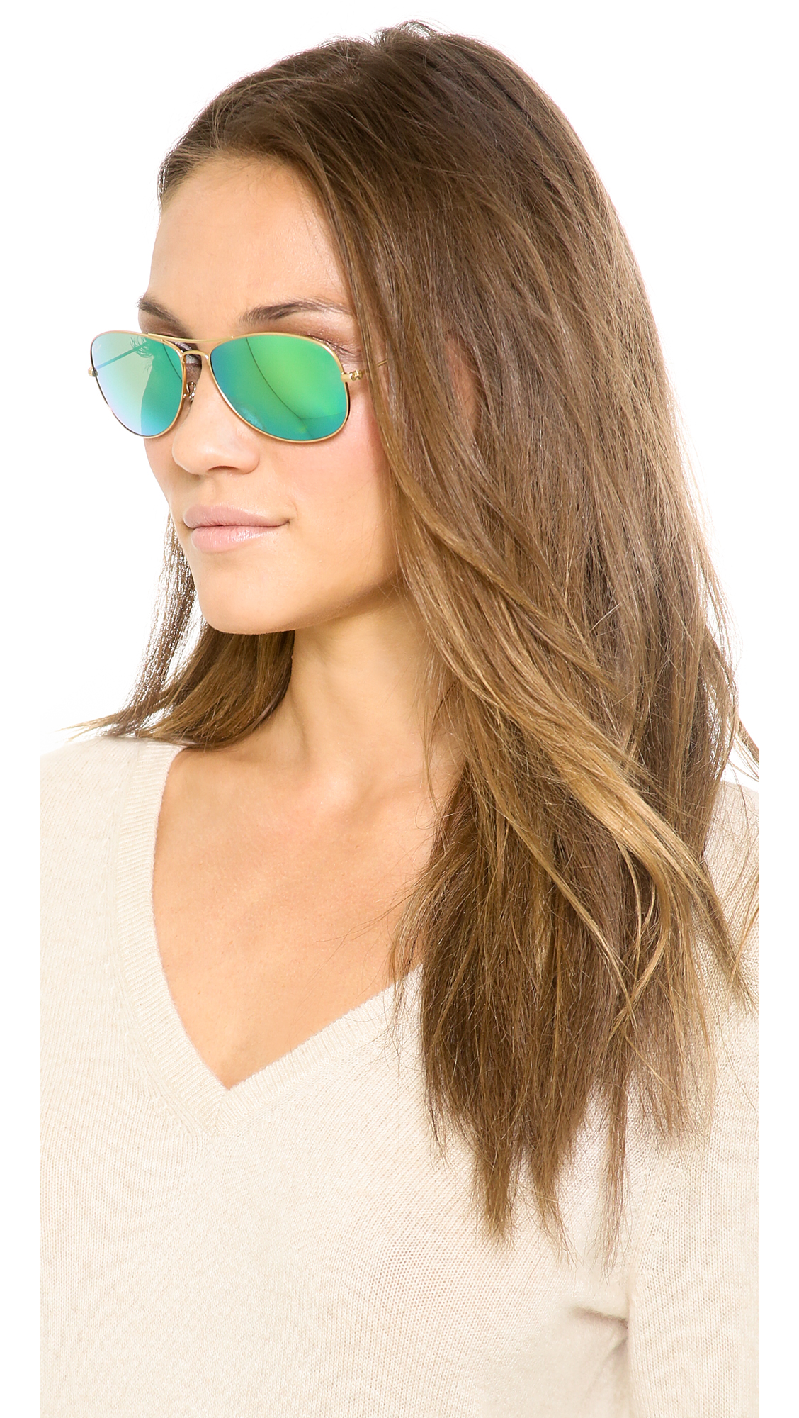 Ray-Ban RB3362 Mirrored Shrunken Aviator Sunglasses  42500a772