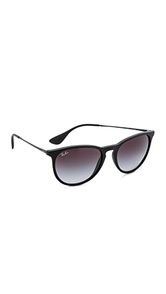 Ray-Ban Erika Sunglasses - Black/Grey Gradient