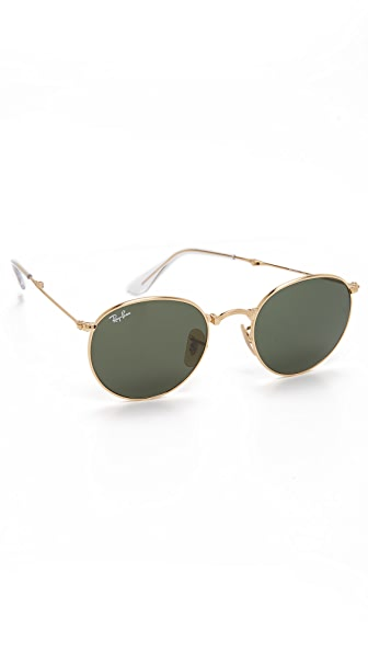 Ray-Ban Foldable Round Sunglasses