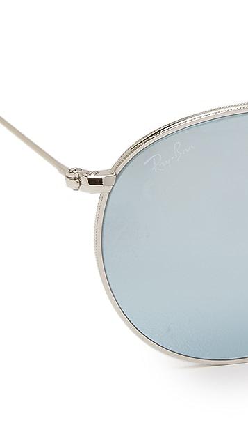Ray-Ban Foldable Round Sunglasses