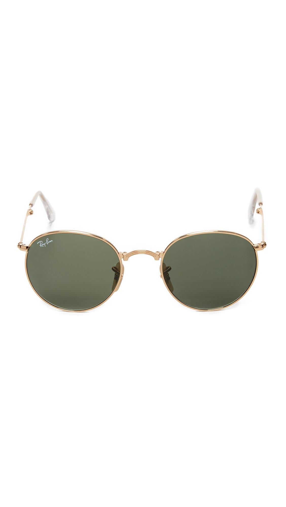 Ray-Ban Icons Round Sunglasses | SHOPBOP