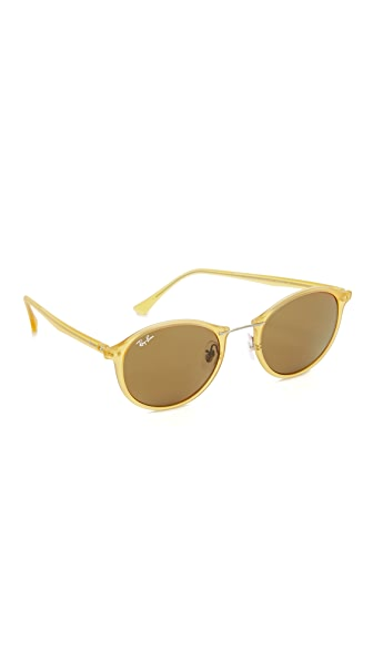 Ray-Ban Tech Light Ray Round Sunglasses