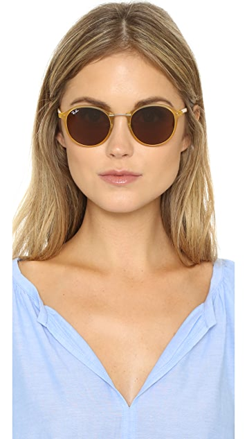 Ray-Ban Tech Light Ray Round Sunglasses