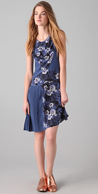 Richard Chai Love Galaxy Floral Dress