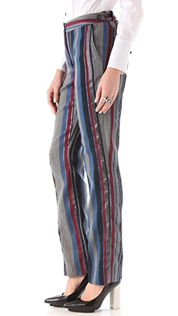 Richard Chai Love Side Tab Trousers