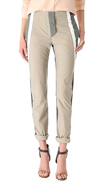 Richard Chai Love Combo Windbreaker Trousers
