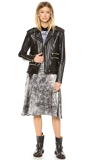 Rodarte Studded Leather Jacket